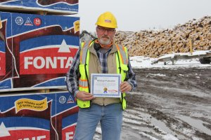 Michael Palmatier, Sawmill Operations & Maintenance Manager at Stratton Lumber, Stratton, Maine, 2016