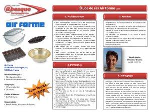 Films de polymères et produits thermoformés (2008).